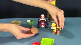 Мультфільм з іграшок. Щенячий патруль пластилін Plej Do Іграшки для малюка / Mul'tfil'm iz igrushek
