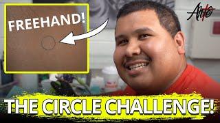 THE CIRCLE CHALLENGE! | Arte Tattoo Studios