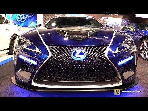 2017 Lexus LC500 Black Panther Custom Vehicle - Walkaround - 2017 SEMA Las Vegas