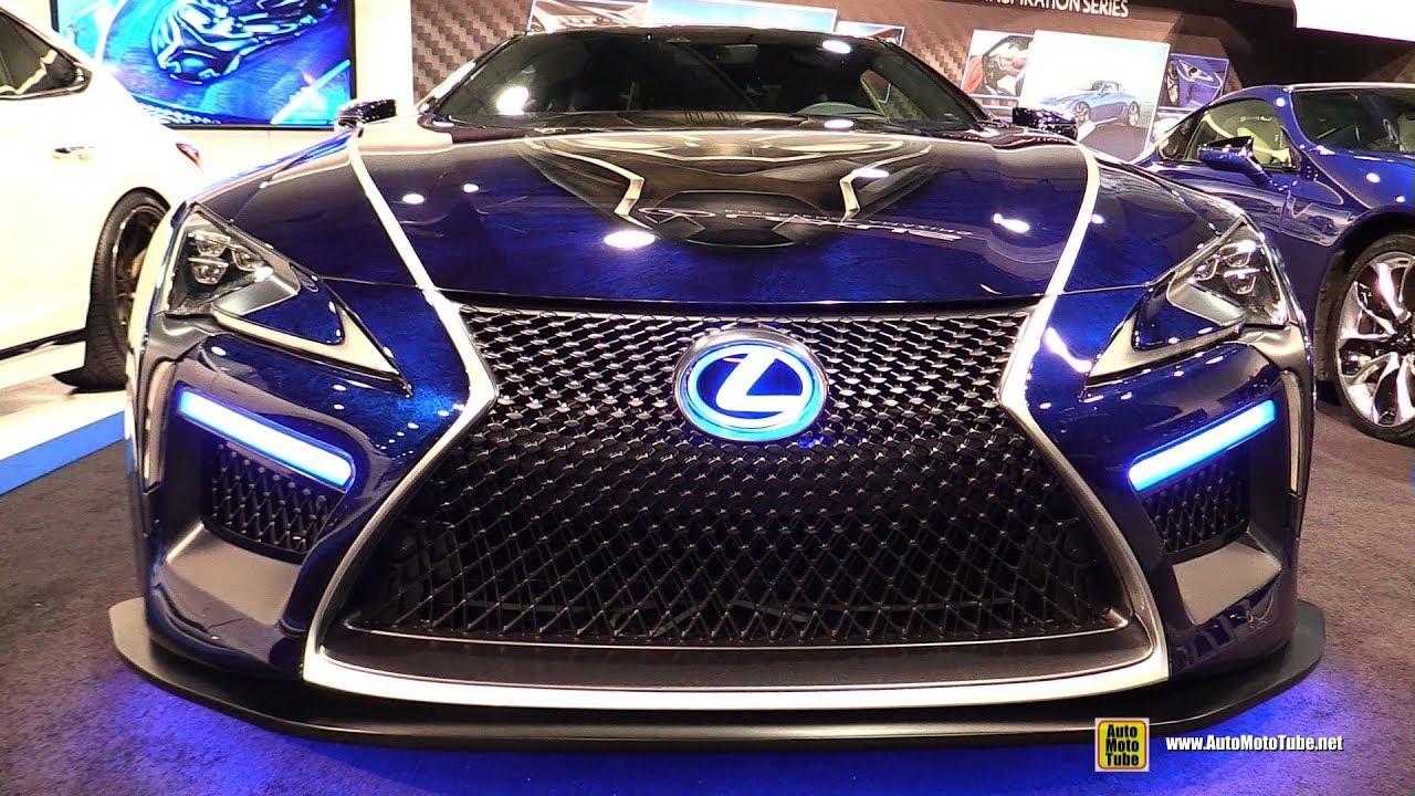 2017 Lexus Lc500 Black Panther Custom Vehicle Walkaround 2017