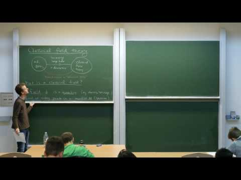 Quantum field theory, Lecture 2