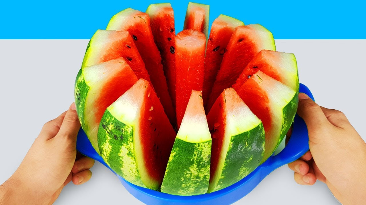 14 SIMPLE LIFE HACKS WITH WATERMELON