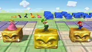 Mario Party 5 - Minigames Mariothon 7 Win: Daisy vs Team Mario Luigi Peach (master cpu)