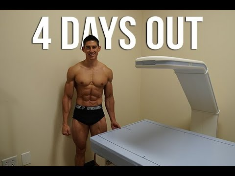 DEXA SCAN - Bodybuilder 4 Days out from WNBF Pro Universe - Chris Elkins