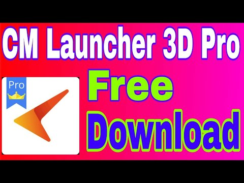 Cm Launcher 3D Pro Apk Free Download | Play Store Paid App Free Download