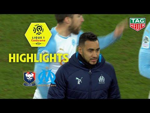 SM Caen - Olympique de Marseille ( 0-1 ) - Highlights - (SMC - OM) / 2018-19