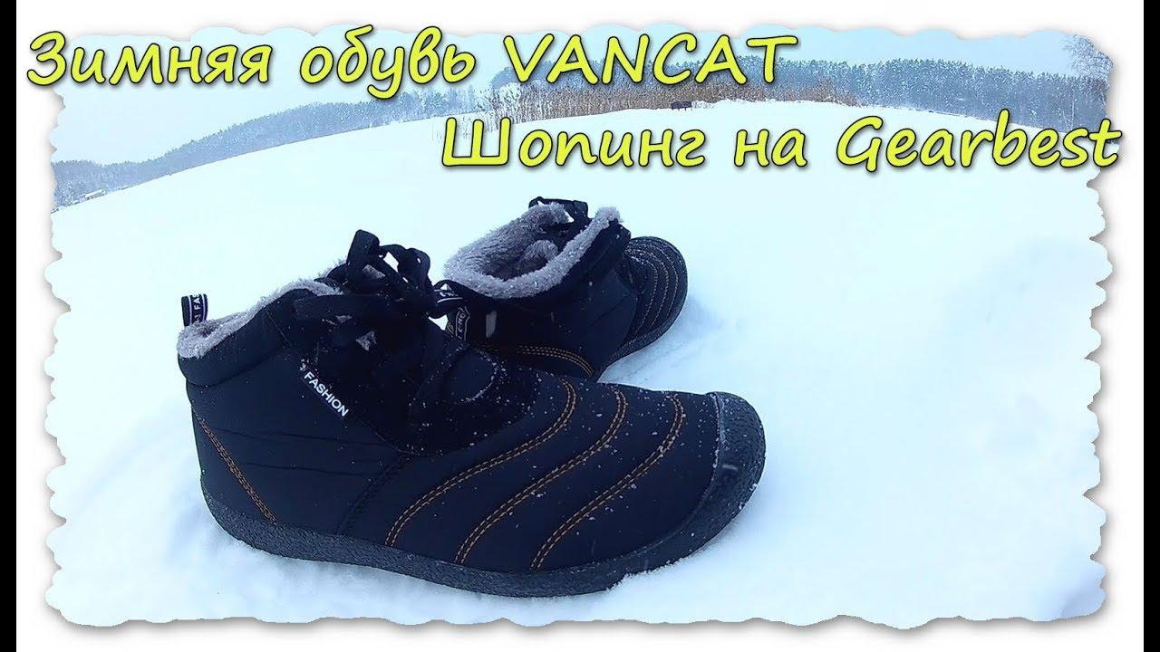 Зимняя обувь VANCAT.Шопинг на Gearbest