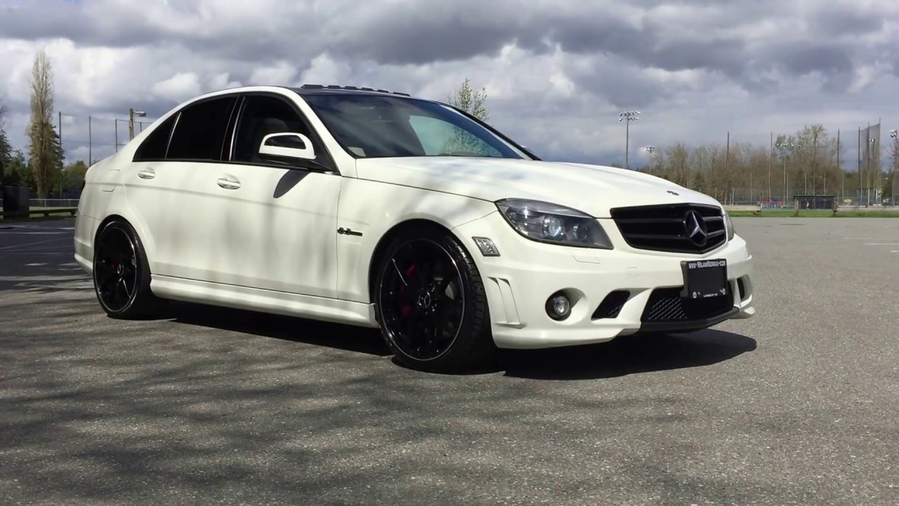 2009 mercedes c63 amg youtube for Mercedes benz c63 amg 2009
