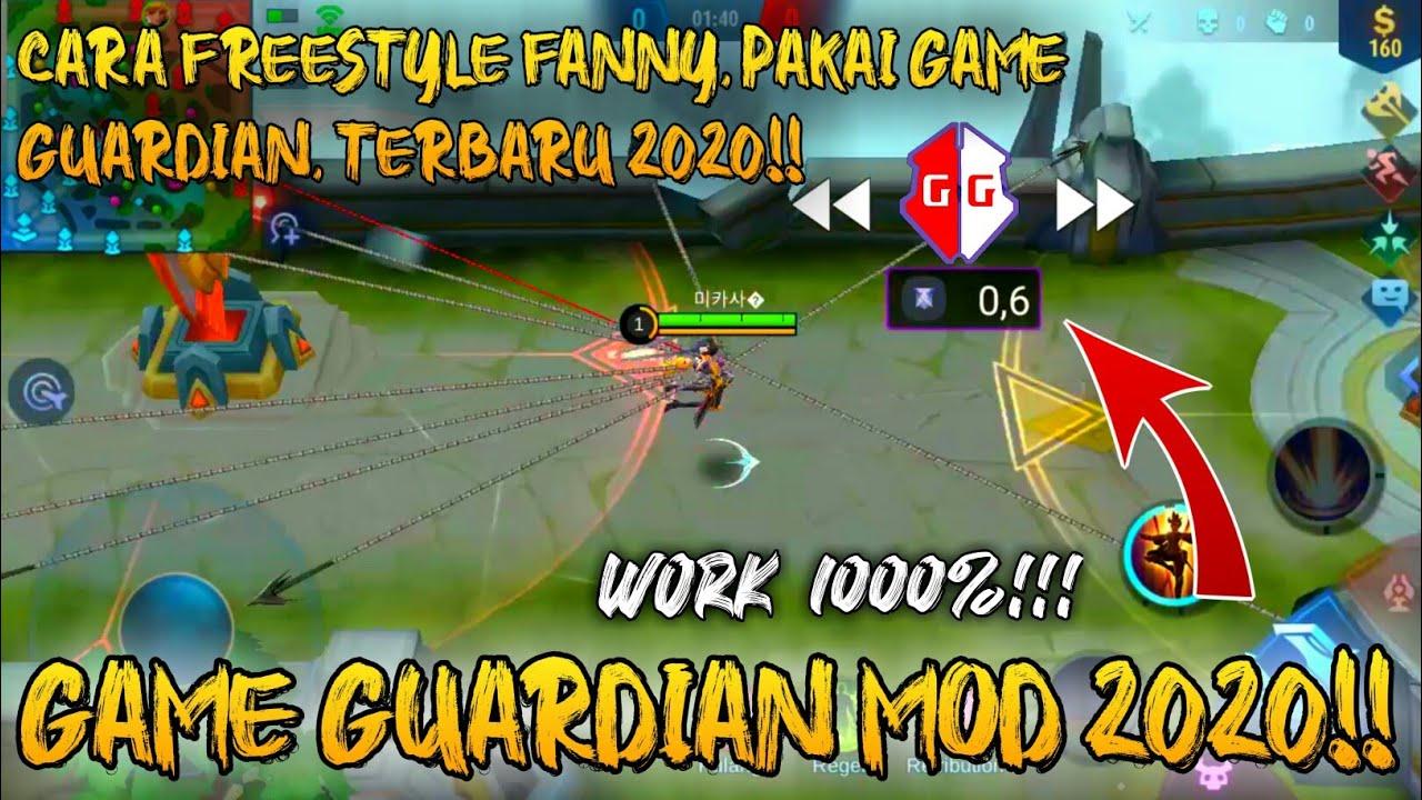 TERBARU!! CARA FREESTYLE FANNY PAKAI GAME GUARDIAN 2020 + GAME GUARDIAN MOD!! WORK!! - YouTube