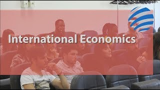 Choisis ton master ! Master of International Economics