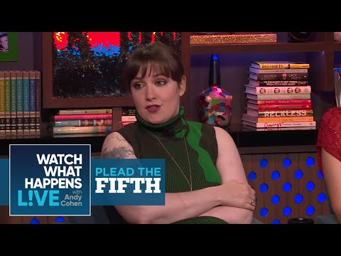 Lena Dunham Calls Out Daniel Tosh And Calvin Harris | Plead The Fifth | WWHL