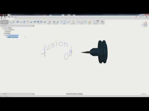 Fusion 360 - Wrapped 2D Sketch Geometry
