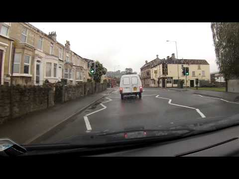 A Drive from Devizes to Bristol