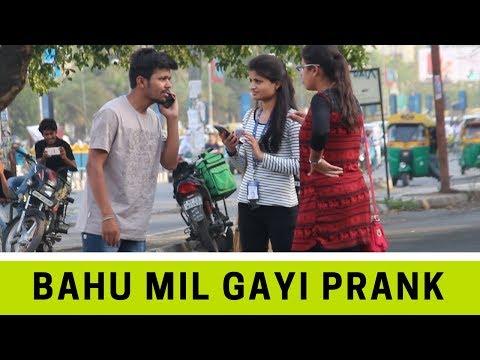 Mummy Bahu Mil Gai Prank - Comment Trolling #2 | Robin Jindal | Comedy Video | Oye Indori