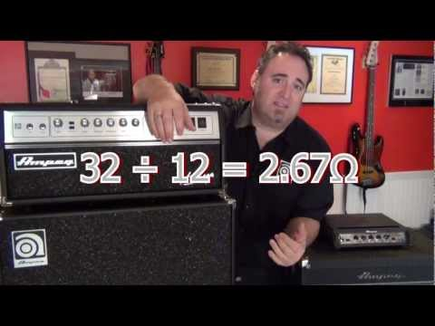 Tips and Tricks - Understand Impedance - Ampeg Heads and Cabs