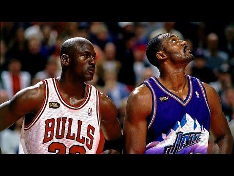 1998 NBA Finals Game 6 - Chicago Bulls @ Utah Jazz (Jordan ...
