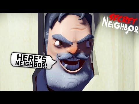 Новый Привет Сосед по Сети Обновление Играю за Соседа! - Hello Neighbor Secret прятки