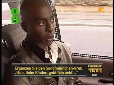 Bruce Darnell - Promi Quiz Taxi Kabel 1