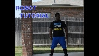 HOW TO DO THE ROBOT| ANIMATION DANCE TUTORIAL| ROBOT DANCE