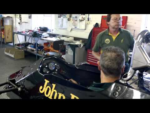 Classic Team Lotus start Team Lotus type 92 chassis 5