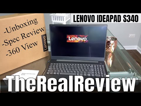 Lenovo Ideapad S340 | Spec Review | Unboxing