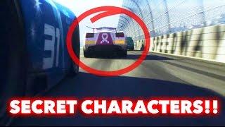 CARS 3 (2017) NEW SECRET/HIDDEN CHARACTERS!! + Easter Eggs
