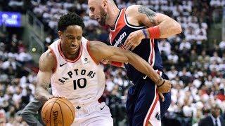 Raptors Finally End Game 1 Curse! Wizards vs Raptors 2018 NBA Playoffs