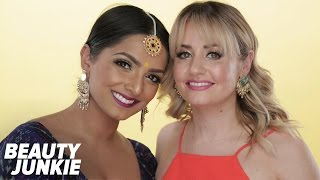 Indian Wedding Makeup With Kirbie and Deepica!