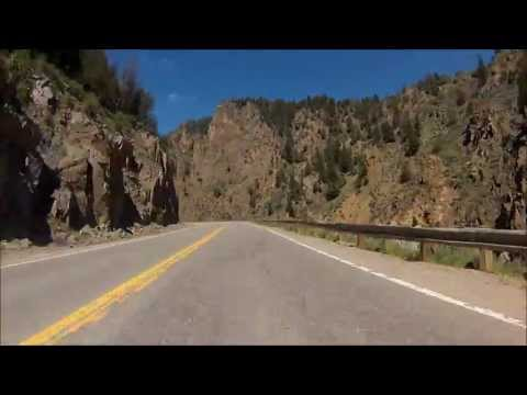 Motorcycle ride from Granby, CO - Vail, CO
