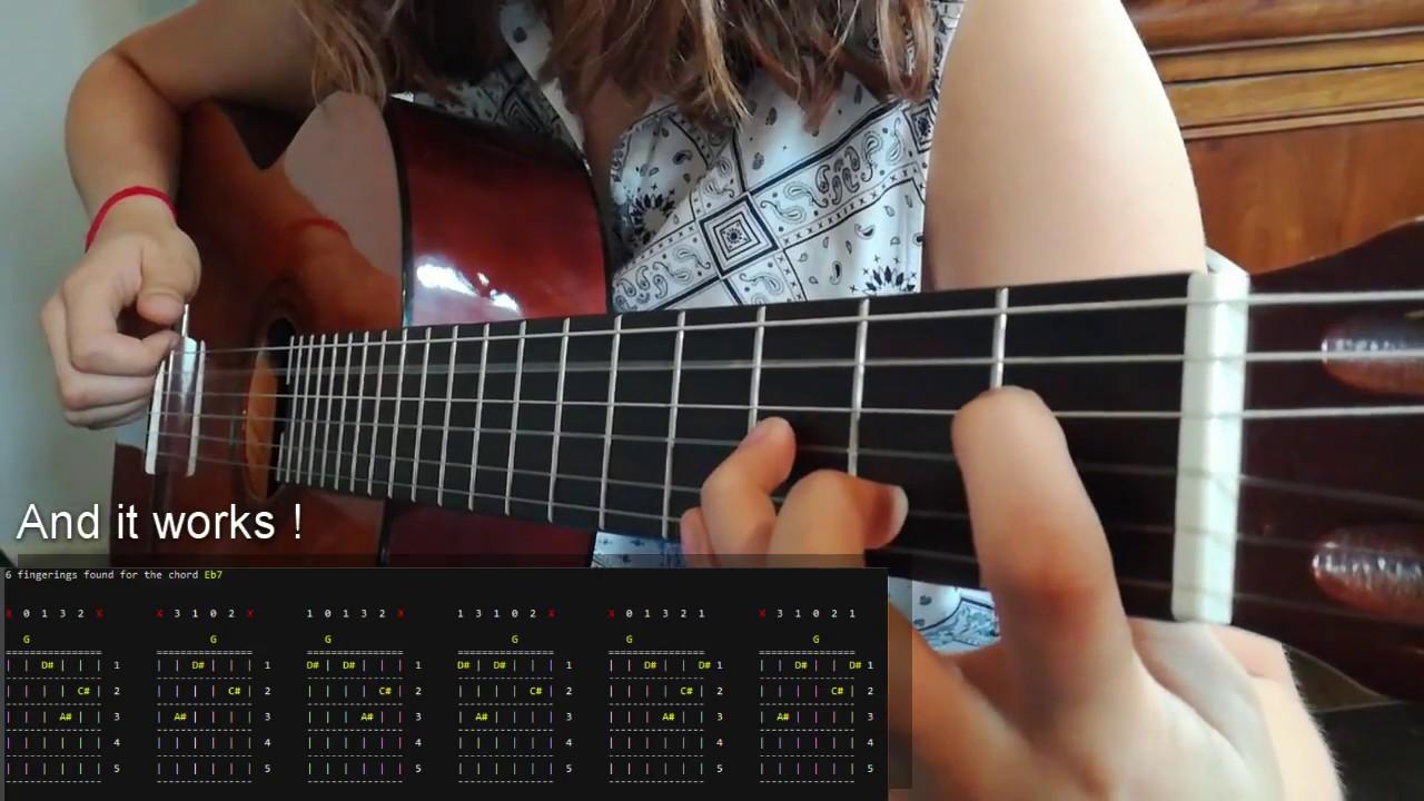 Guitar chord fingering generator c youtube guitar chord fingering generator c hexwebz Choice Image