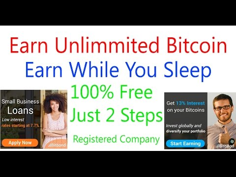 Earn Free Unlimited Bitcoin |Bitbond| Earn 0.01 Btc Daily - Earn Bitcoin Free & Investment