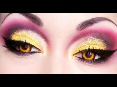 maquillage artistique drag queen in red ! , pearlymakeup et