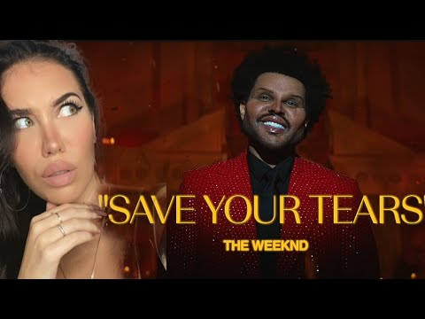 FEMALE DJ REACTS TO The Weeknd - Save Your Tears (Official Music Video) REACTION