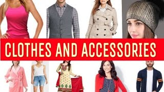 CLOTHES AND ACCESSORIES -DAILY ENGLISH VOCABULARY