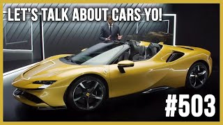 Ordering a New Ferrari SF90 Spider! | LTACY #503