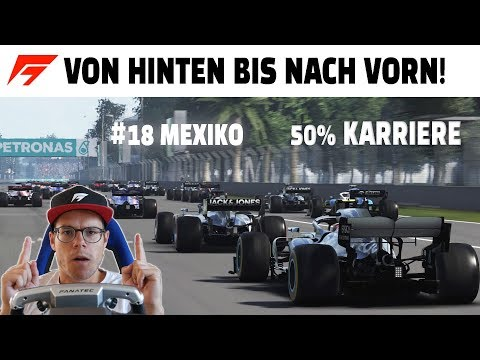 F1 2019 KARRIERE MEXIKO | LAST TO FIRST? | Patrickf1gaming Gameplay | Folge 18