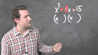 """Dave May Teaches: Factoring Trinomials with """"The un-FOIL Method"""""""