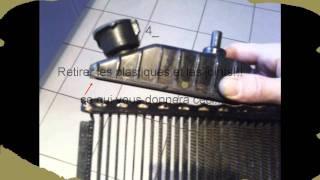 comment réparer radiateur qui fuit
