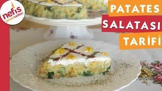 Muhteşem Patates Salatası - Salata Tarifi - Nefis Yemek Tarifleri