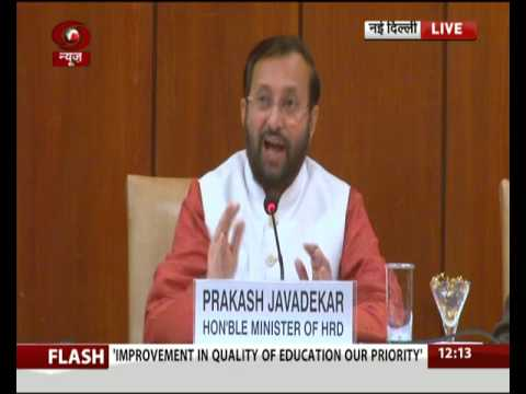 Improvement in quality of education our priority: Prakash Javadekar