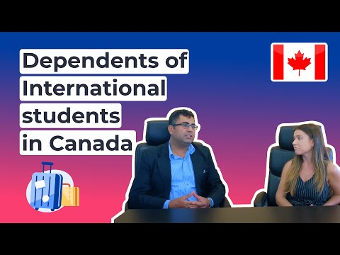 Dependents of international students in Canada