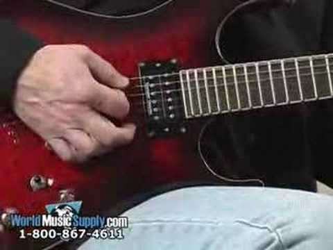 Washburn X50PRO Electric Guitar Demo