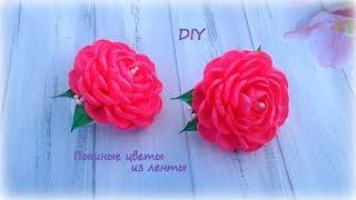 🌺 Цветы из ленты 🌺 Резиночки для волос 🌺 Канзаши 🌺 DIY 🌺 Hand мade 🌺 Kanzashi 🌺