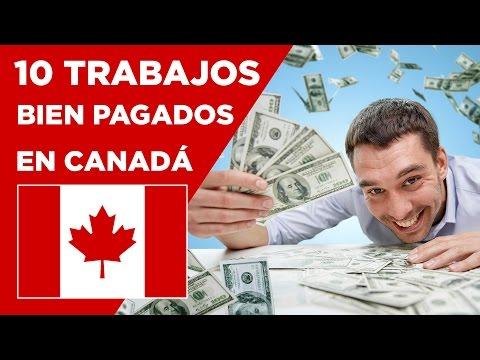 10 Profesiones muy BIEN PAGADAS en CANADÁ - 2016 a 2021
