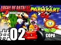 MK64#02| Arena de Batalha| Mario Kart 64 Hisoka e Gunai Flower Cup