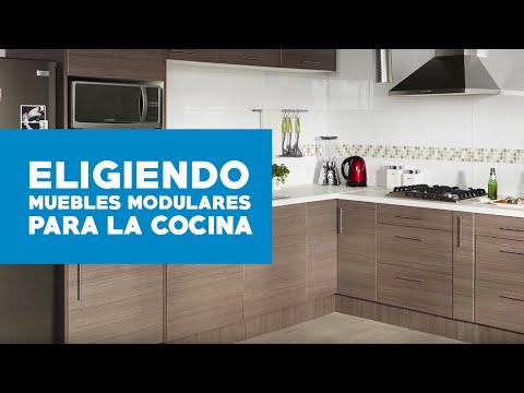 Cómo elegir muebles modulares para la cocina? - YouTube