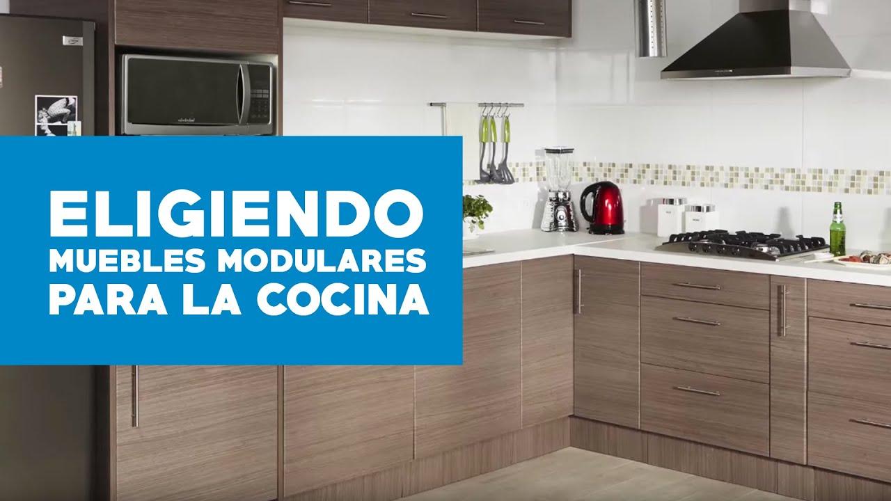 C mo elegir muebles modulares para la cocina youtube for Muebles de cocina para montar