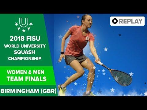 🔴 SQUASH - Team Finals - 2018 FISU World University Champs