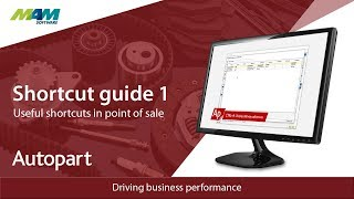 Pos shortcuts in autopart & trader. this video, i work through an old document created by andy, which describes the function of some useful shortcuts. l...