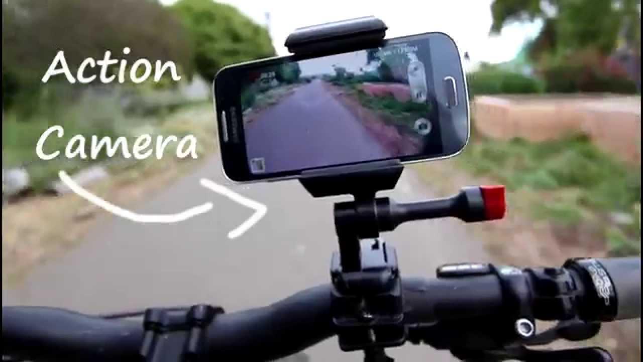 Bicycle Phone Mount >> Smartphone Bike Mount Youtube